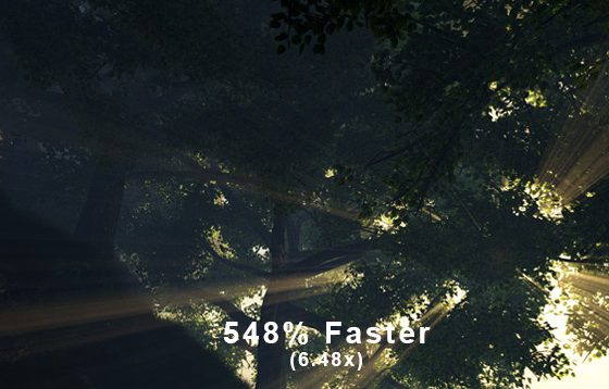 548% Faster