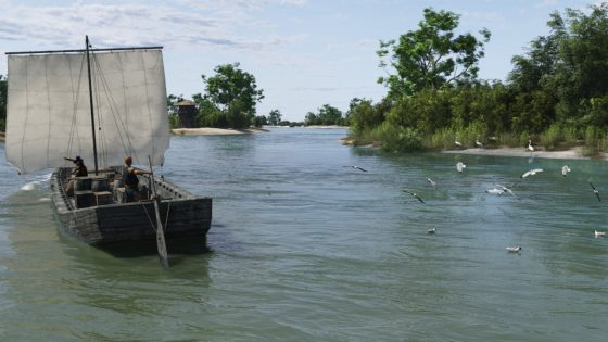 Roman River Transport by Ulco Glimmerveen