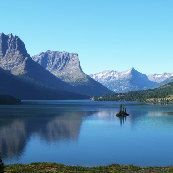 Saint Mary Lake by Jeff Boser