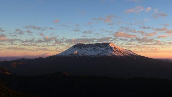 St. Helens Sunrise by Oshyan Greene