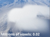 Millions of voxels = 0.02