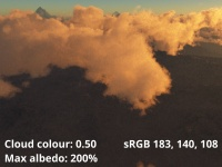 Cloud colour = 0.5 (sRGB 183,140,108)