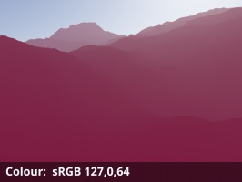Colour = sRGB 127,0,64