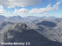 Bluesky density = 2.5 (default)
