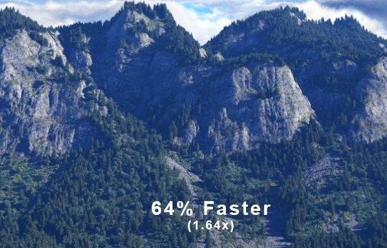 64% Faster