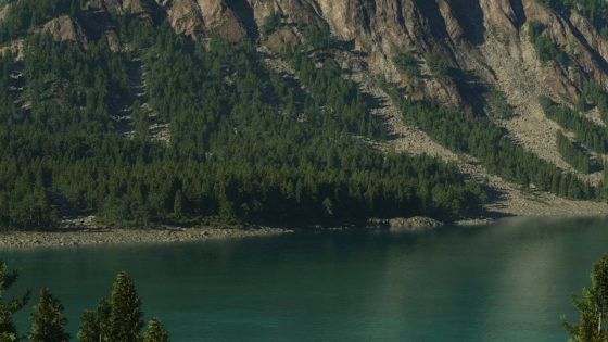 Terragen Mountain Side by Jeff Boser